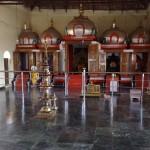 Temple at Ramagiri Ashram