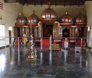 Temple at Ramagiri Ashram